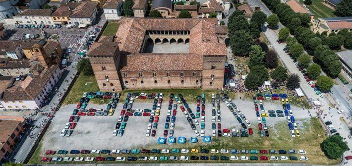 Fiat Panda Treffen in Pandino – begeisterter Empfang für neuen Fiat Panda Waze