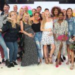 Schwangere Prominente bei Fashion Show