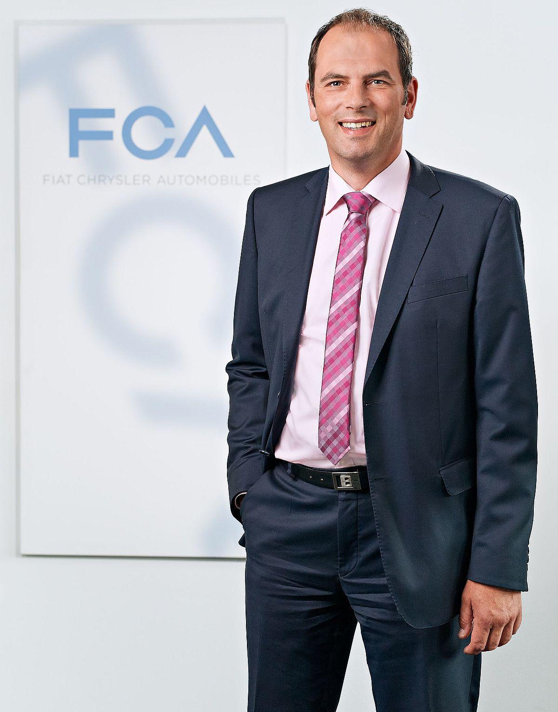 Reginar von Schoenau ist Direktor Marketing bei Fiat / Abarth