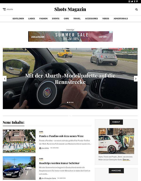 Unternehmensprofil im Online-Magazin: Optimiert für Suchmaschinen