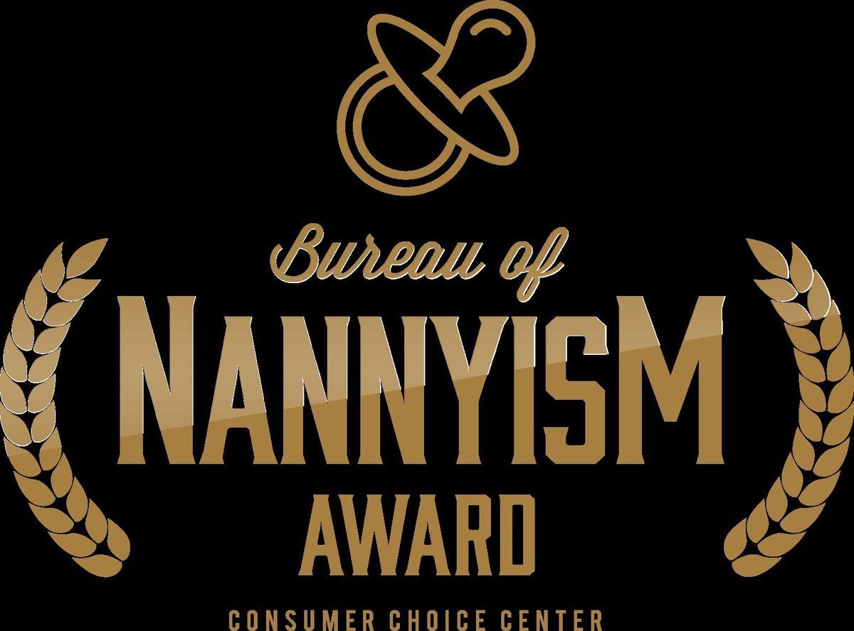 Consumer Choice Center (CCC), BAN-Award