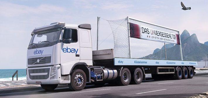 eBay rettet das Weltmeister-Tor aus Rio
