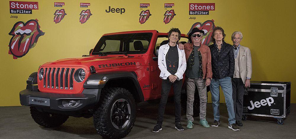 Jeep® Wrangler als Sponsor beim Final-Konzert der Rolling Stones Tournee 'No Filter' in Warschau