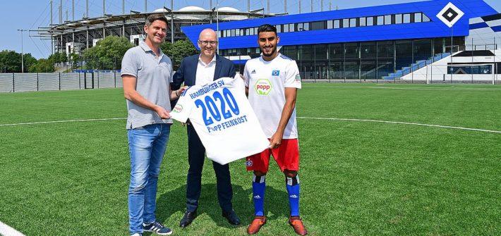 HSV und Popp Feinkost mit vorzeitiger Vertragsverlängerung