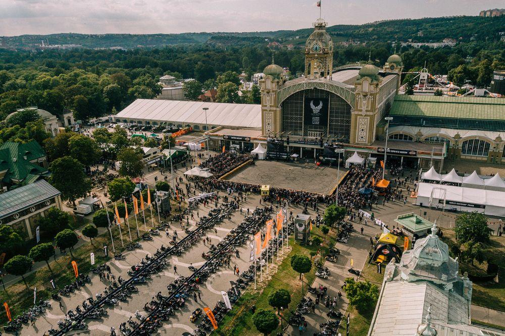 Harley-Davidson feierte in Prag ausgiebig Geburtstag
