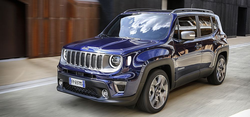 Verkaufsstart für den neuen Jeep® Renegade Modelljahr 2019