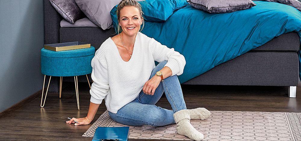 Wohnen mit Stil: Eva Brenner entwirft edles Interieur