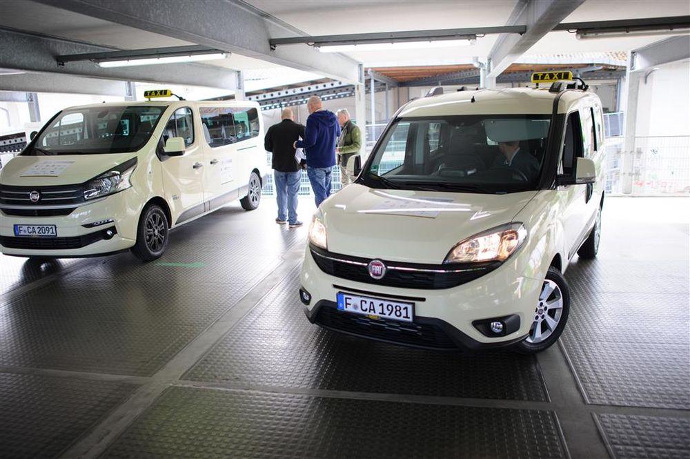 Fiat mit Inklusions-Taxi auf der Europäischen Taximesse in Köln