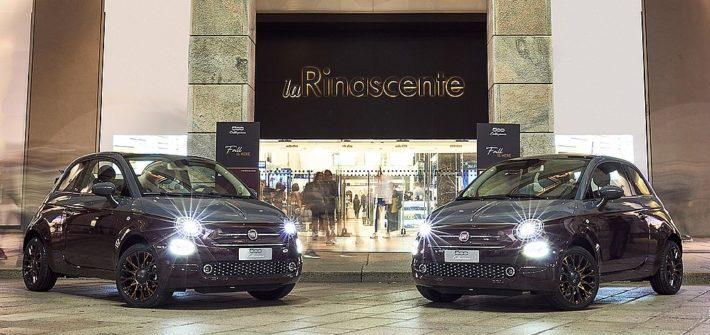 Neuer Fiat 500 Collezione auf dem Laufsteg in Mailand
