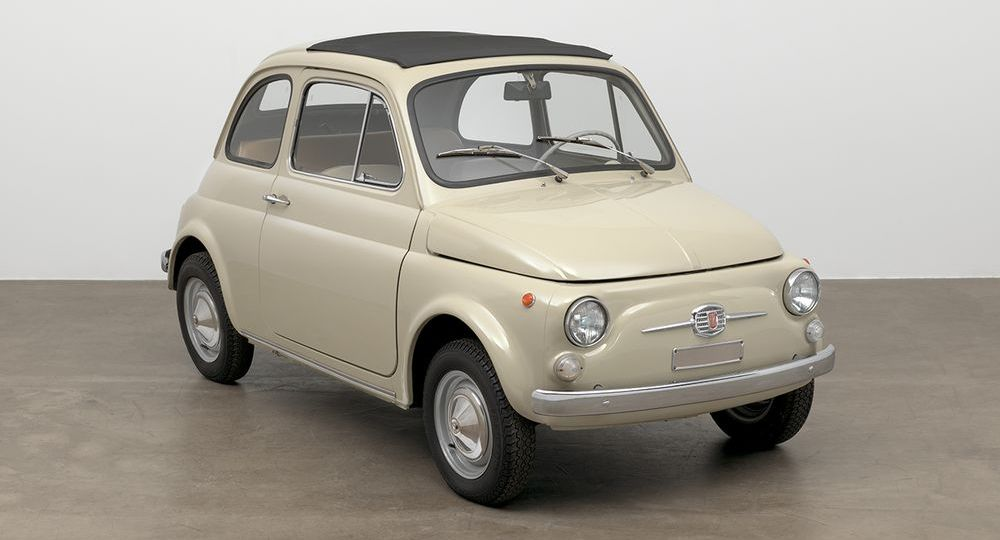 "Fiat 500 ist im New Yorker Museum of Modern Art Teil der Ausstellung ""The Value of Good Design"""
