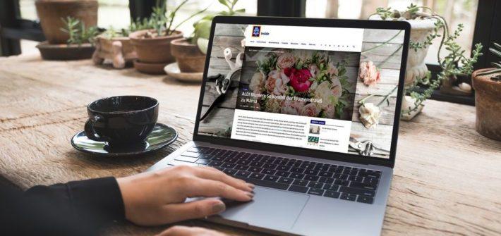 Unternehmensblog mit Relaunch
