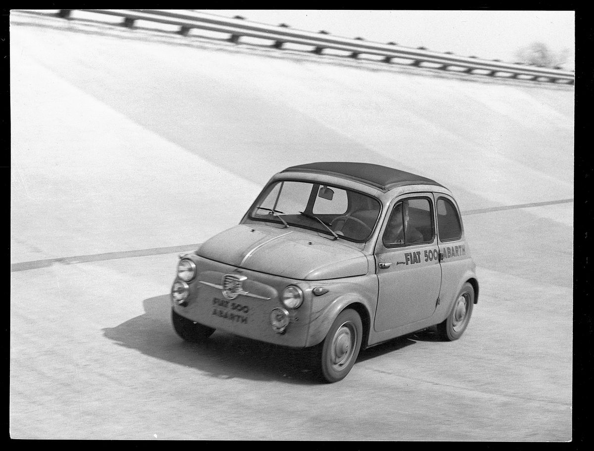 Fiat 500 in von Abarth getunter Rekordvariante (1958)