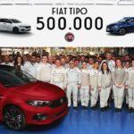 Fiat Tipo knackt Grenze von 500.000 produzierten Einheiten