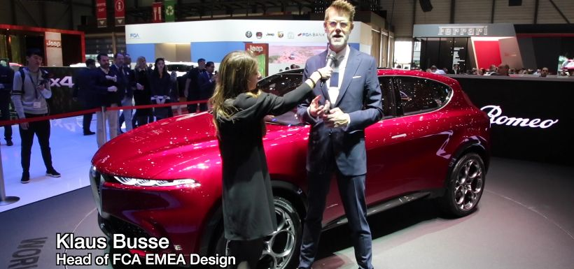 Video: Interview mit Klaus Busse zum Alfa Romeo Tonale