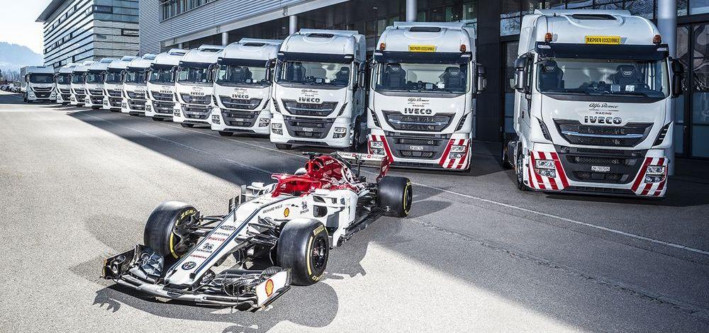 Alfa Romeo fährt mit Iveco zum Rennen