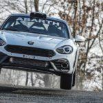 Abarth 124 rally in der Saison 2019 – optimierter Spider soll Führungsposition im Rallyesport behaupten