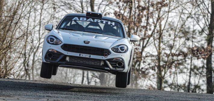 Abarth 124 rally in der Saison 2019 - optimierter Spider soll Führungsposition im Rallyesport behaupten