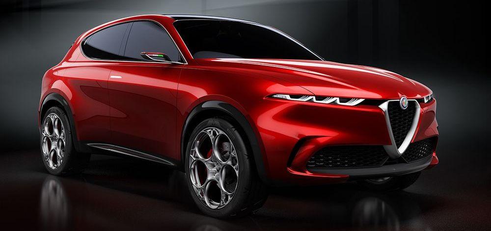 Konzeptfahrzeug Alfa Romeo Tonale - Elektrifizierung trifft auf Stil und Dynamik