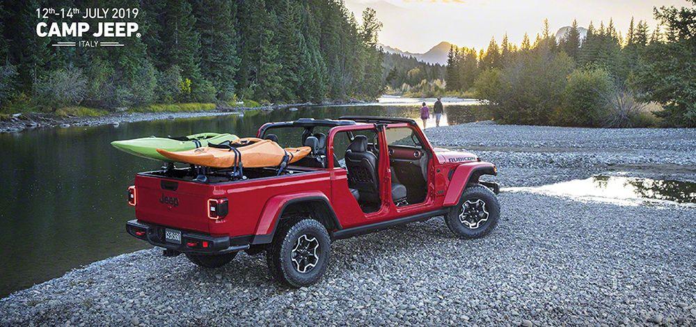 Camp Jeep® 2019 heißt den neuen Jeep Gladiator willkommen