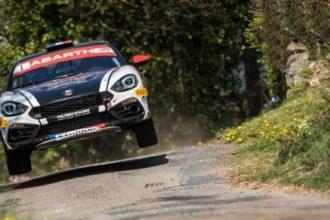 Bei der Rallye Kanarische Inseln startet der Abarth Rally Cup in seine erste Saison – mit dem optimierten Abarth 124 rally
