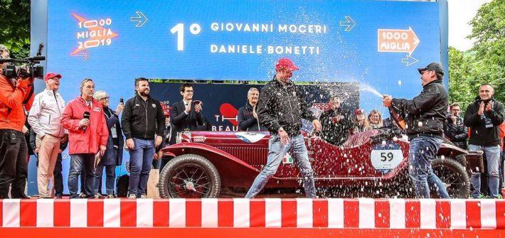 Doppelsieg für Alfa Romeo bei Oldtimer-Rallye Mille Miglia