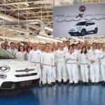 Fiat 500X stellt Rekord auf – schon 500.000 Stück produziert