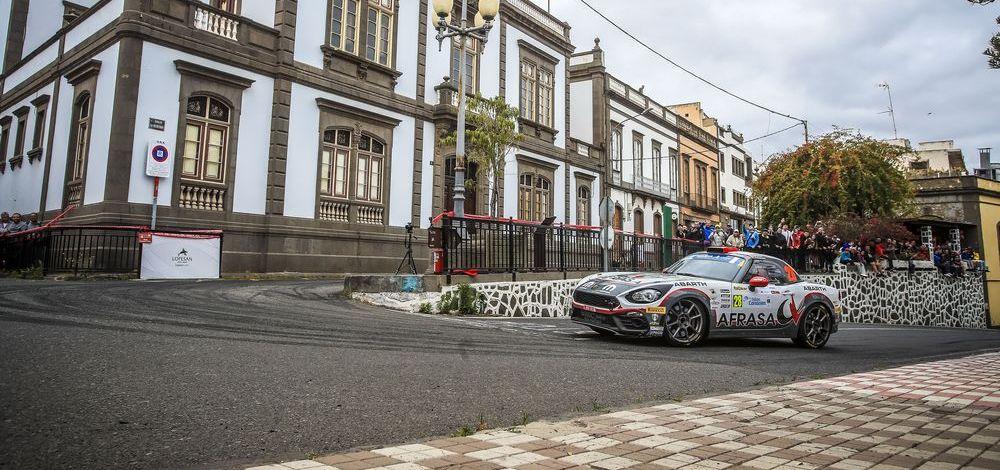 Abarth Rally Cup 2019 mit erfolgreichem Start in Spanien