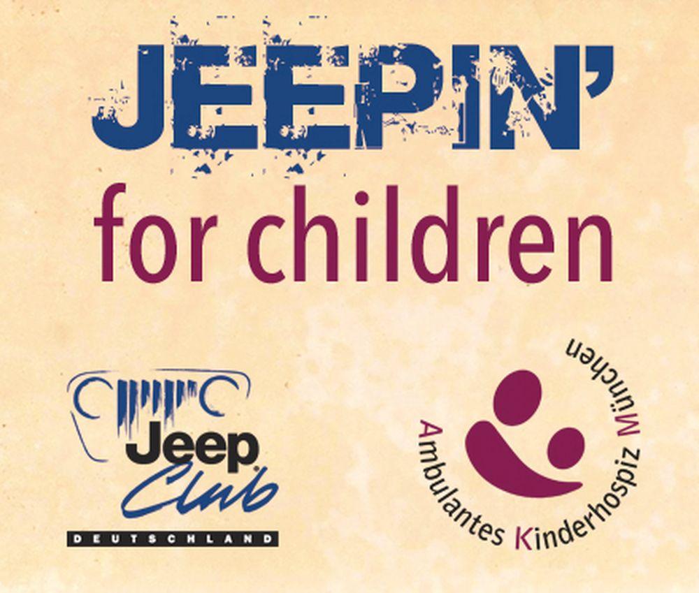 """""""Jeepin´ for children"""" – eine Initiative des Jeep Club Deutschland e.V. zugunsten der Stiftung 'Ambulantes Kinderhospiz München' (AKM)"""