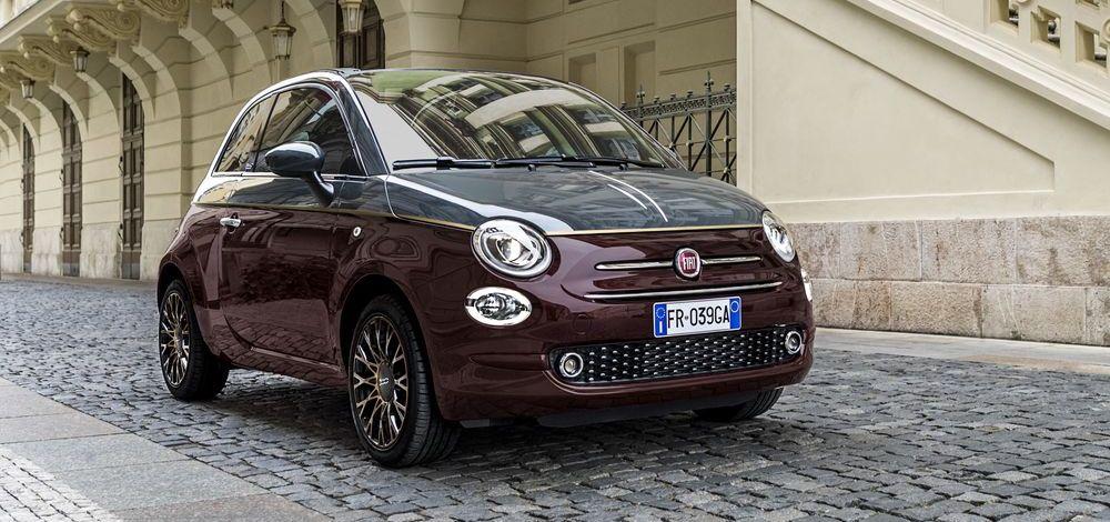 Fiat 500 führt die Zulassungsstatistik an
