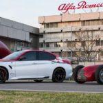 68 Jahre später: Alfa Romeo Tipo 159 zurück beim Großen Preis von Großbritannien