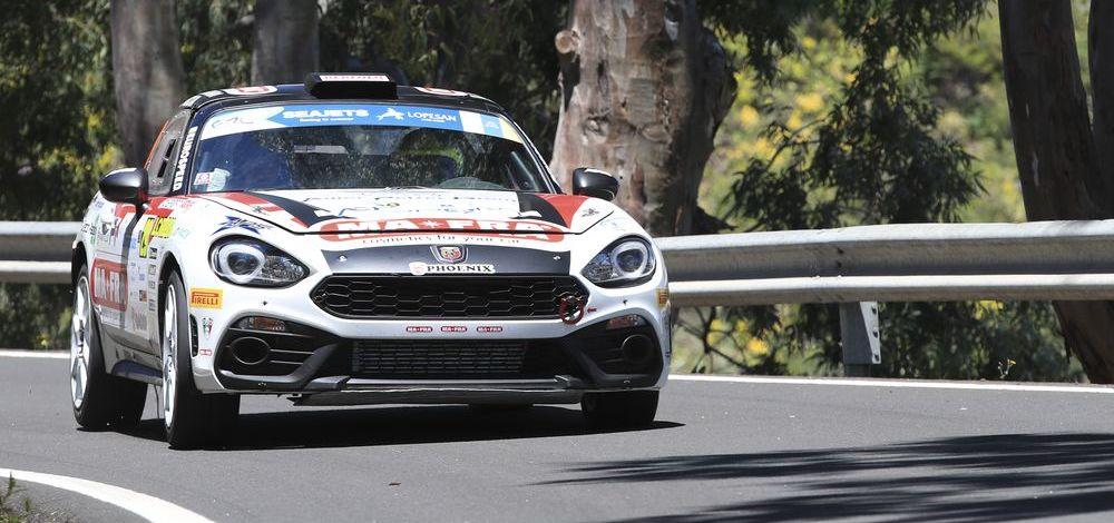 Rallye-Europameisterschaft und Abarth Rally Cup: Drei Teams gehen mit dem Abarth 124 rally bei der Rallye Rom an den Start