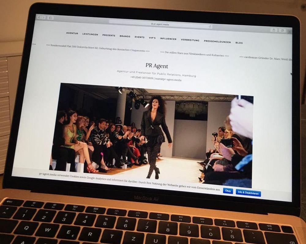 PR / Kommunikation / Agentur / Blog: Laufendes Webprojekt mit Top-Platzierungen und Einnahmen zu verkaufen