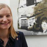 Karin Peemöller: Pressesprecherin für Renault Trucks