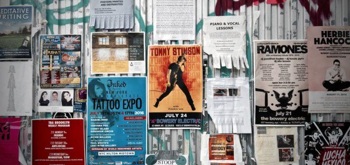 Online-Druckerei für Plakate im Großformat