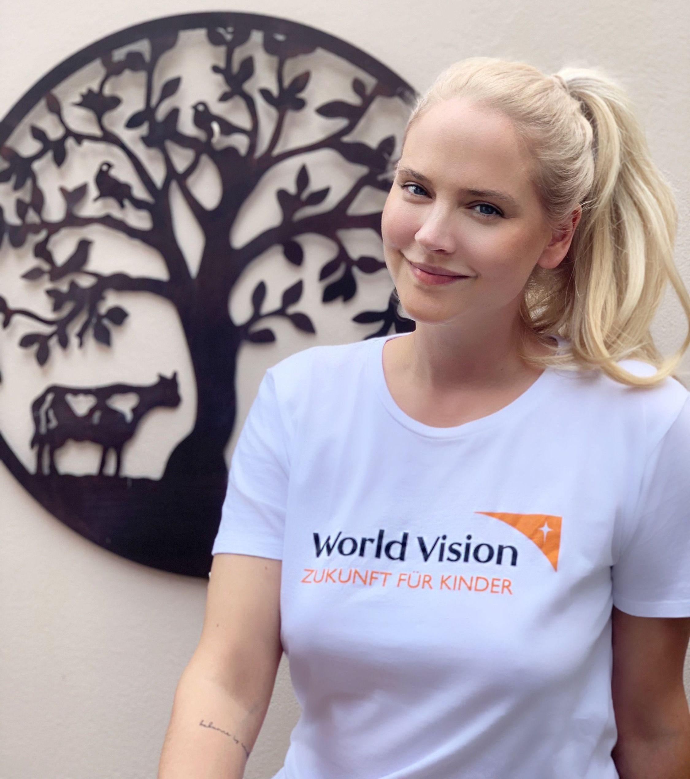Tiana Pongs ist neue Botschafterin von World Vision: Jeder Mensch auf dieser Erde hat das gleiche Recht