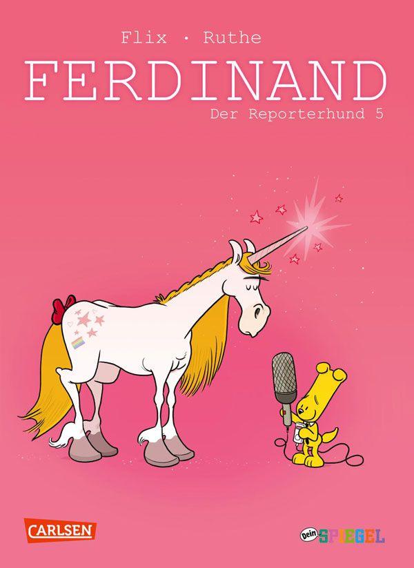"""""""Ferdinand – Der Reporterhund 5"""" von Illustrator Flix und Autor Ralph Ruthe"""
