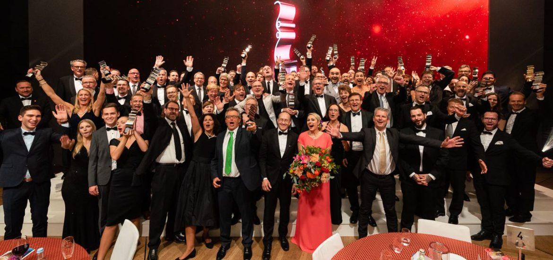 """Die """"Druck&Medien Awards 2019"""" ehrten die Besten der Printbranche"""