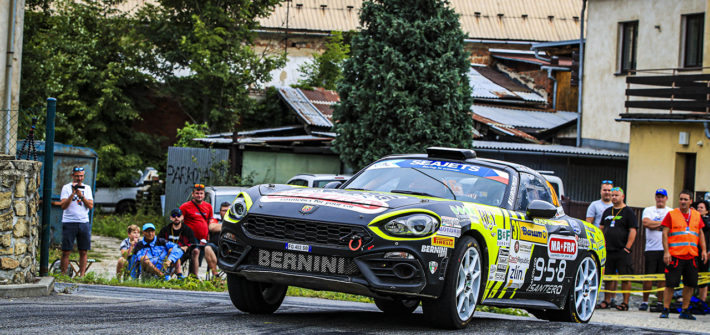 Abarth Rally Cup 2019: Titelentscheidung beim Finale in Ungarn