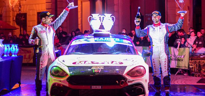 Abarth Rally Cup: Andrea Nucita Gesamtsieger der spannenden Premierensaison