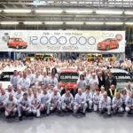 FCA Werk Tychy feiert Produktion von 12 Millionen Fahrzeugen