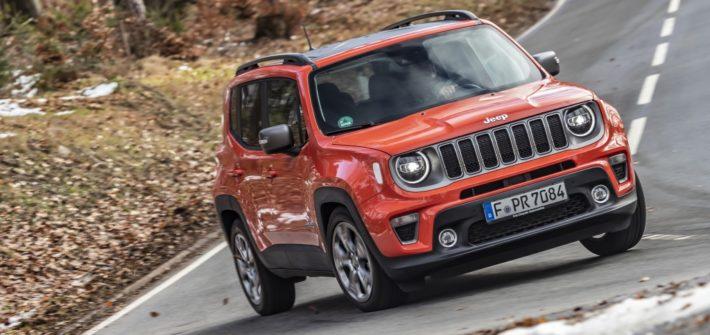 Jeep Renegade im Modelljahr 2020: Mehr Technologie, mehr Sicherheit und mehr Konnektivität durch neues Serviceangebot von Uconnect