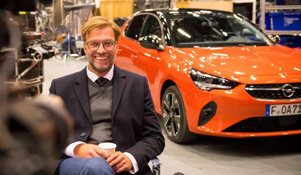 Die neue Corsa-Kampagne mit Jürgen Klopp