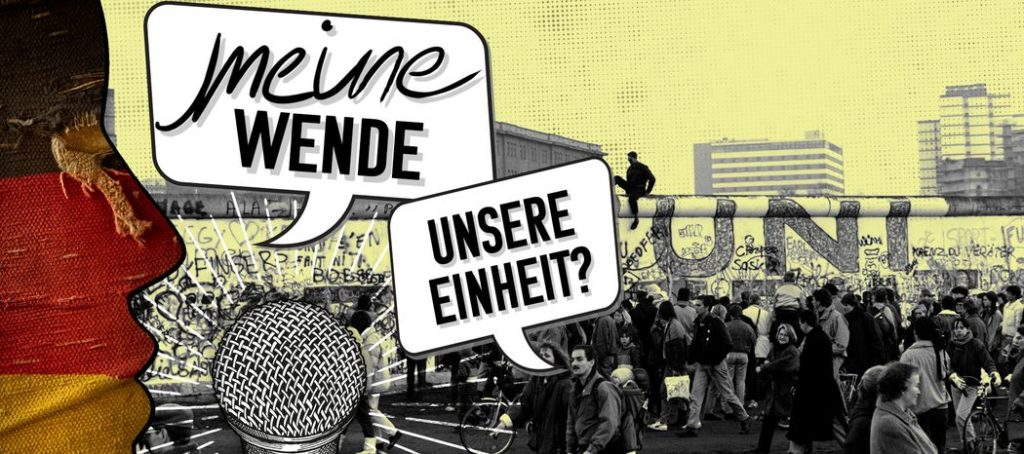 """""""Meine Wende - Unsere Einheit?"""" - ein ZDF-Podcast zum Mitmachen"""