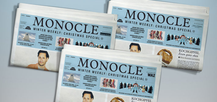 "Funke: ""Monocle - The Winter Weekly"" liegt bei"