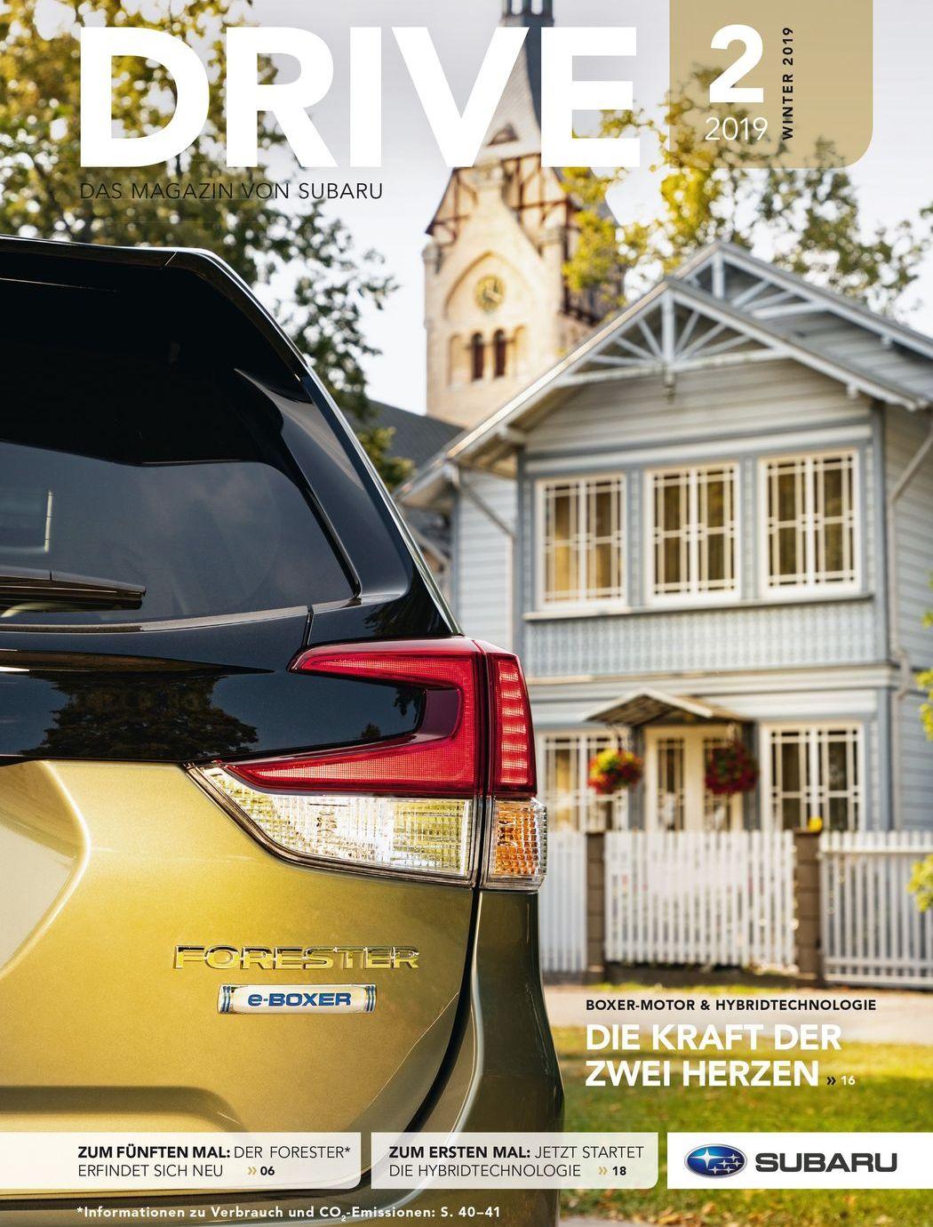 """Subaru-Magazin """"Drive"""""""