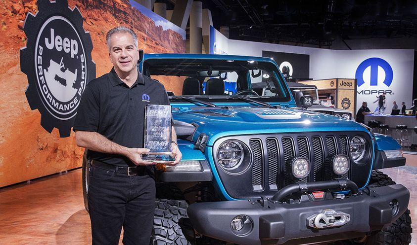 """SEMA Show kürt Jeep® Wrangler zum zehnten Mal in Folge zum """"SUV des Jahres"""""""