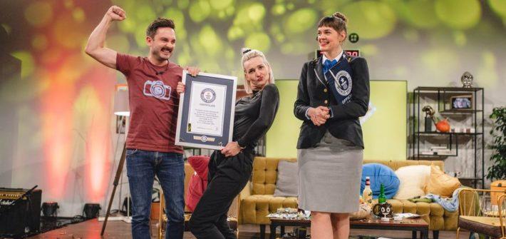 Ins Guinness-Buch der Rekorde getalkt