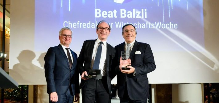Deutscher Mittelstand verleiht Media Award 2019 an Beat Balzli