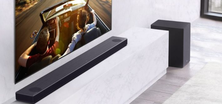 Neues Line-Up an Soundbars bei LG