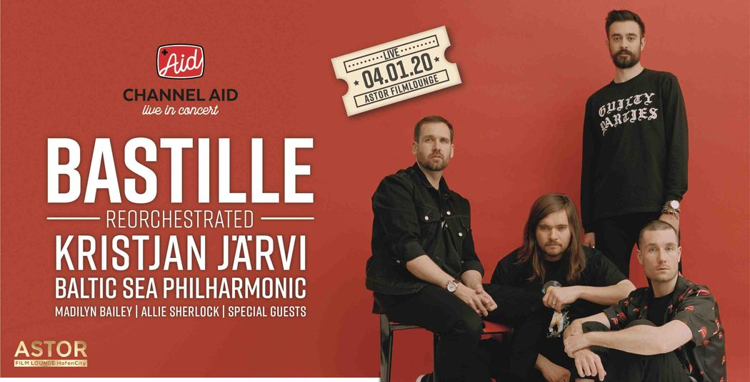 Charity-Konzert von Bastille